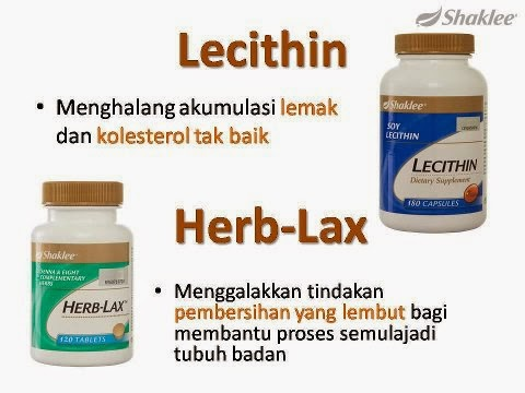 Set kurus - Lecithin dan Herblax