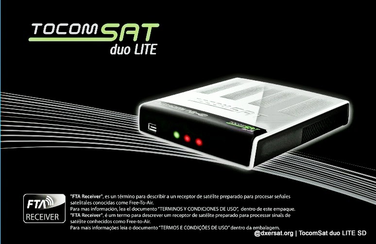 STB TocomSat duo LITE SD Oficial Download