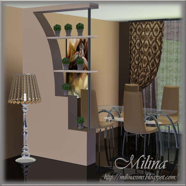 my sims 3 blog decorative partitions by milina