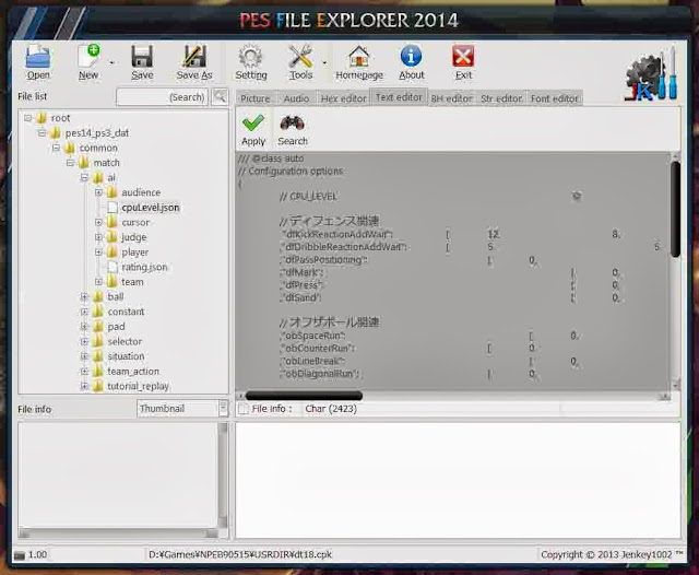 PES File Explorer 2014 Full
