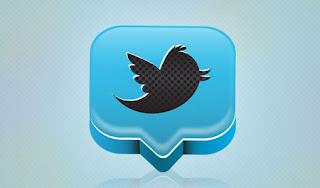 Create 3D-icon Twitter-but with Illustrator