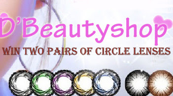 Dbeautyshop Circle Lens Giveaway