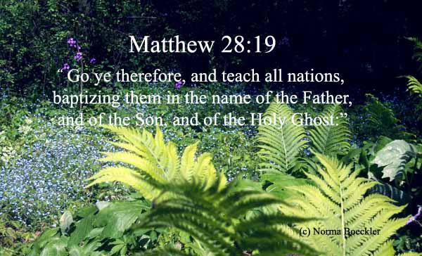Arkansas go ye therefore and teach all nations matthew 28 19