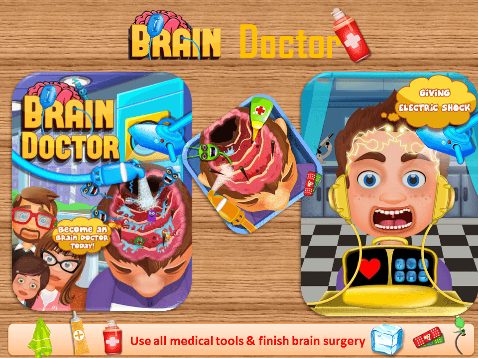 brain surgery kids game