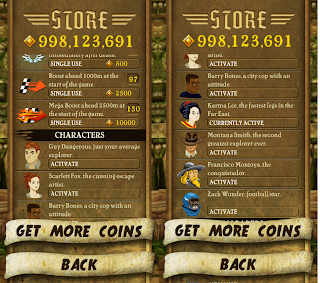 Hack Cheat for Temple Run