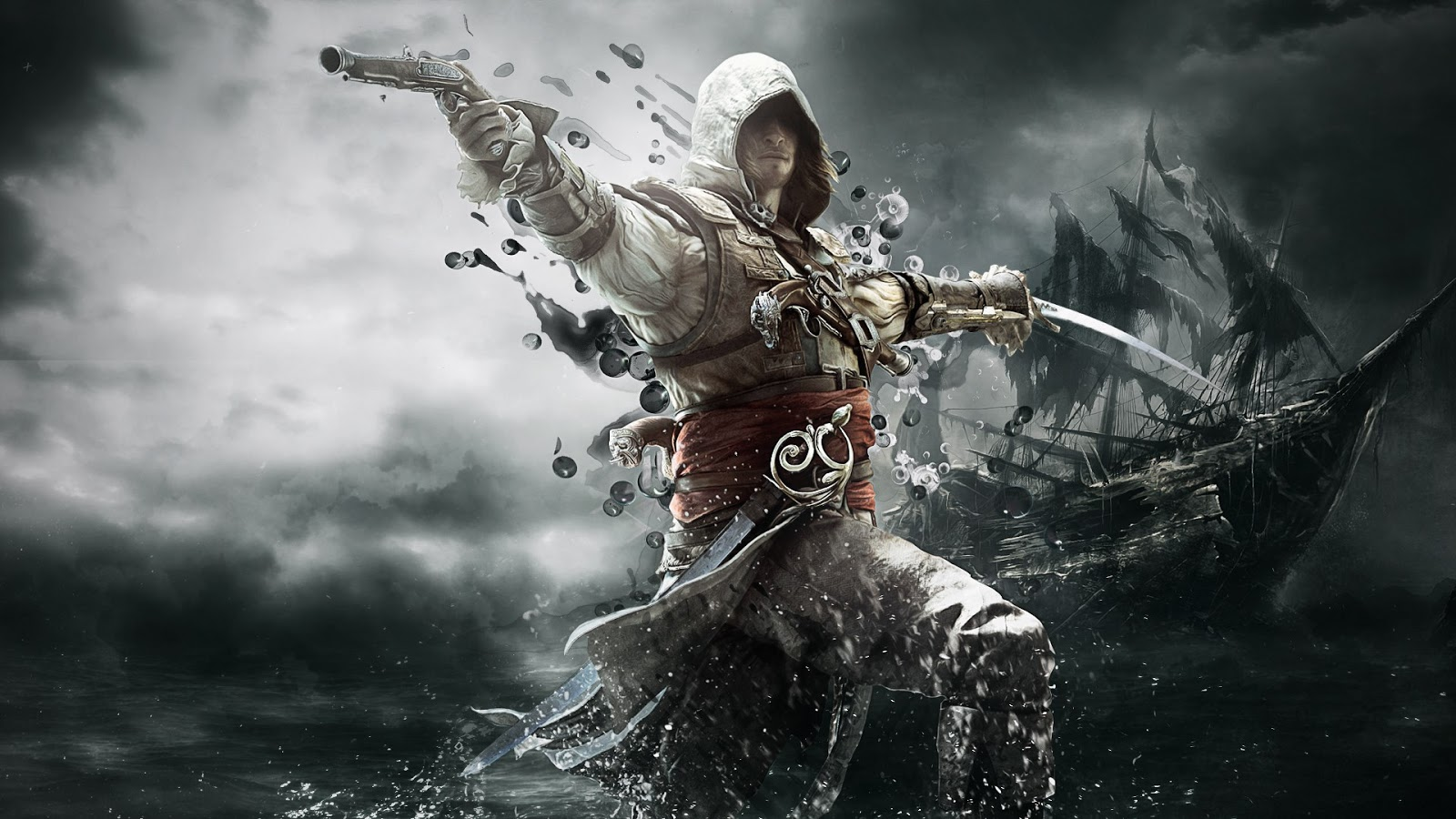 wallpaper assassins creed iv - photo #1