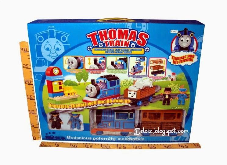 Gambar Mainan Kereta Api Thomas
