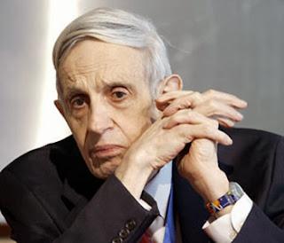 American Mathematician John Nash has Schizophrenia