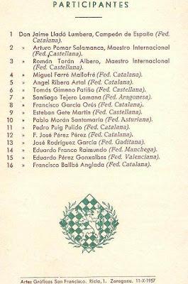 Boletín del XVIII Campeonato de España de Ajedrez (2)