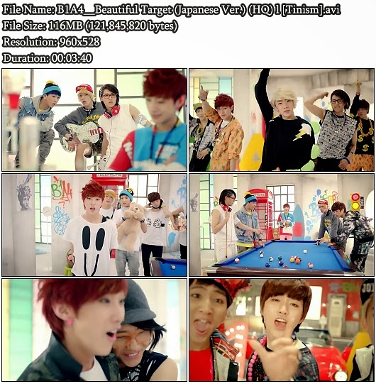 Download PV B1A4 - Beautiful Target (Japanese Version) (HQ)