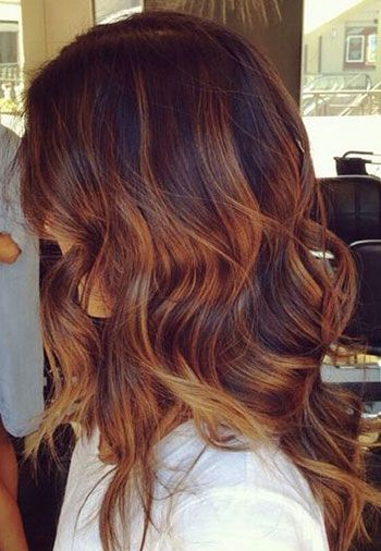 Tiger Eye Hair Color - the new hot trend in hairstyling ... | 350 x 506 jpeg 37kB
