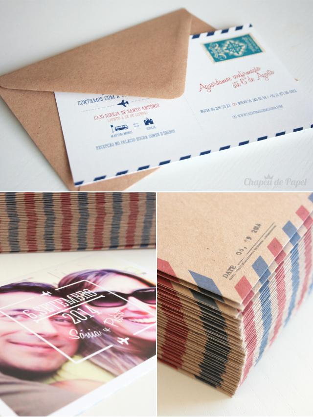 Convites Envelopes Antigos