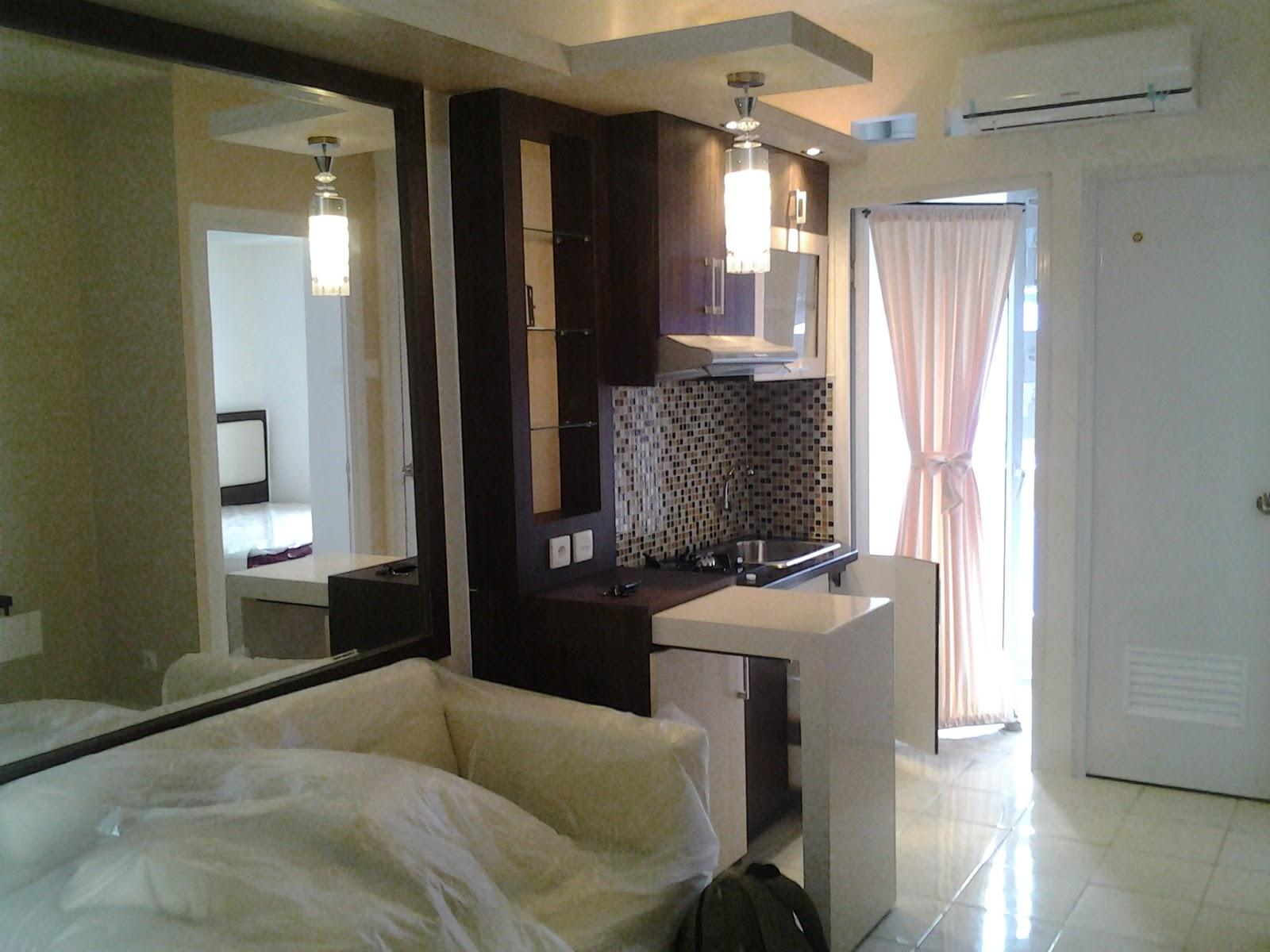 Harga paket interior apartemen 2 bedroom infinity for Interior apartemen studio