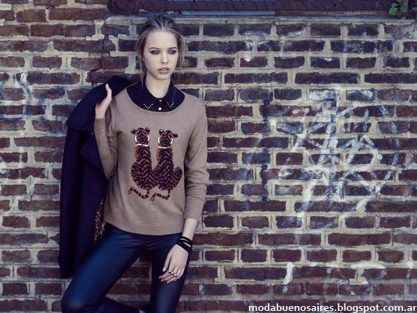 Zhoue sweaters otoño invierno 2013