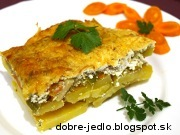 Pangassius v zeleninovo-smotanovej perinke - recept