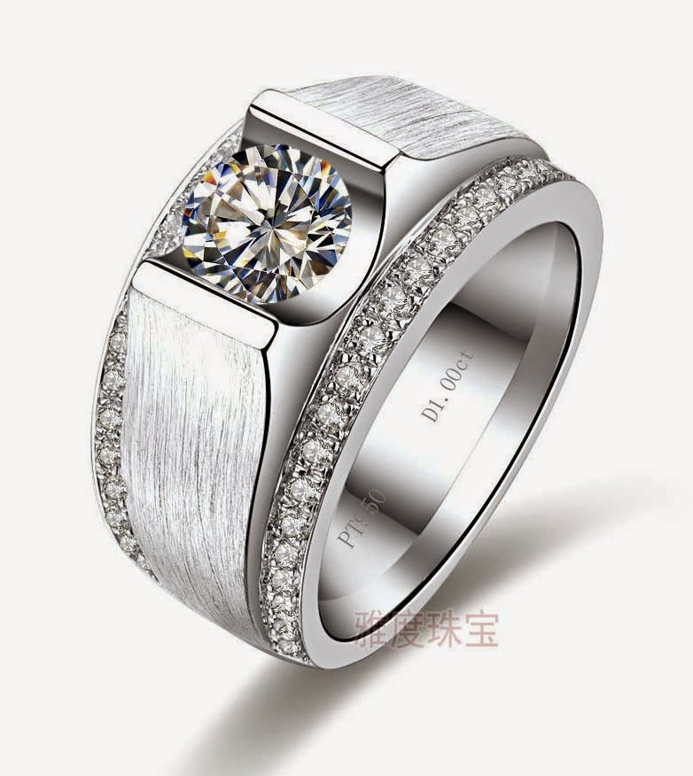 Expensive Mens Wedding Rings Round Diamond Design pictures hd