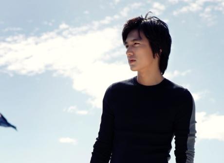 Foto Lee Min Ho di pantai