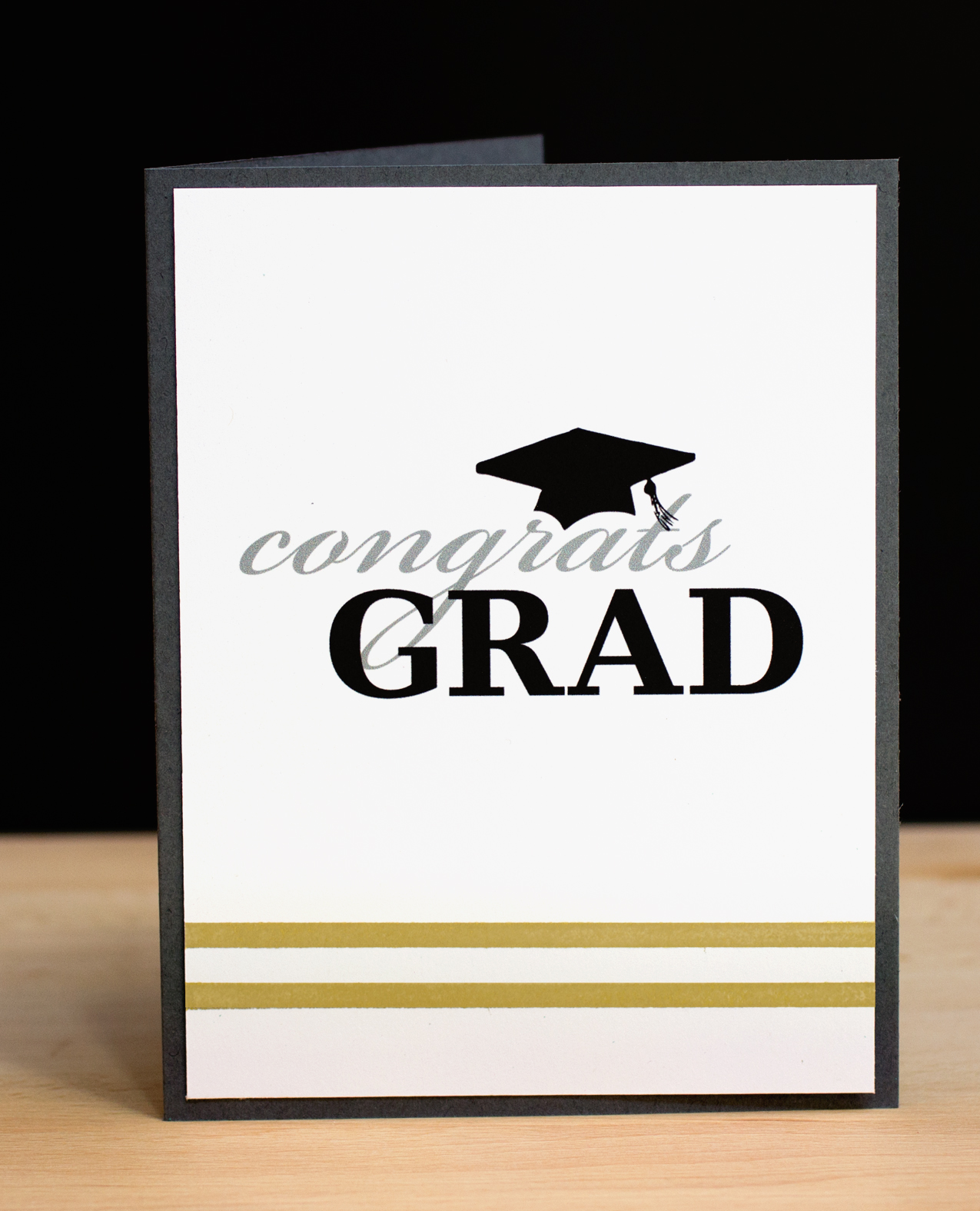 Crafty image within printable grad card