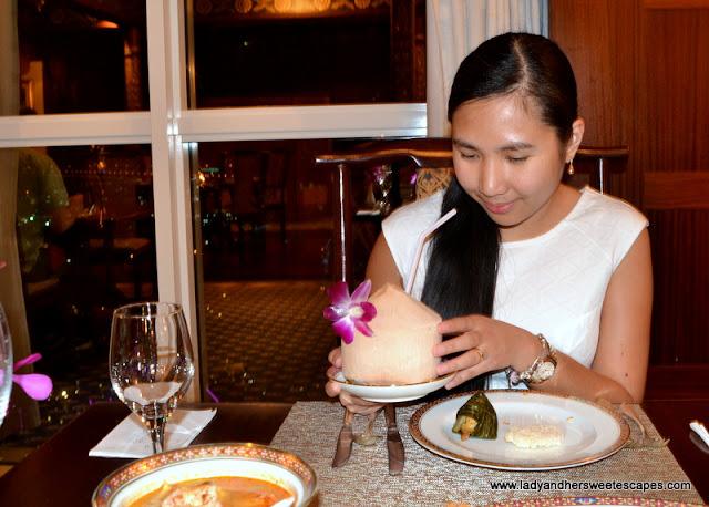 Lady at Benjarong Dubai
