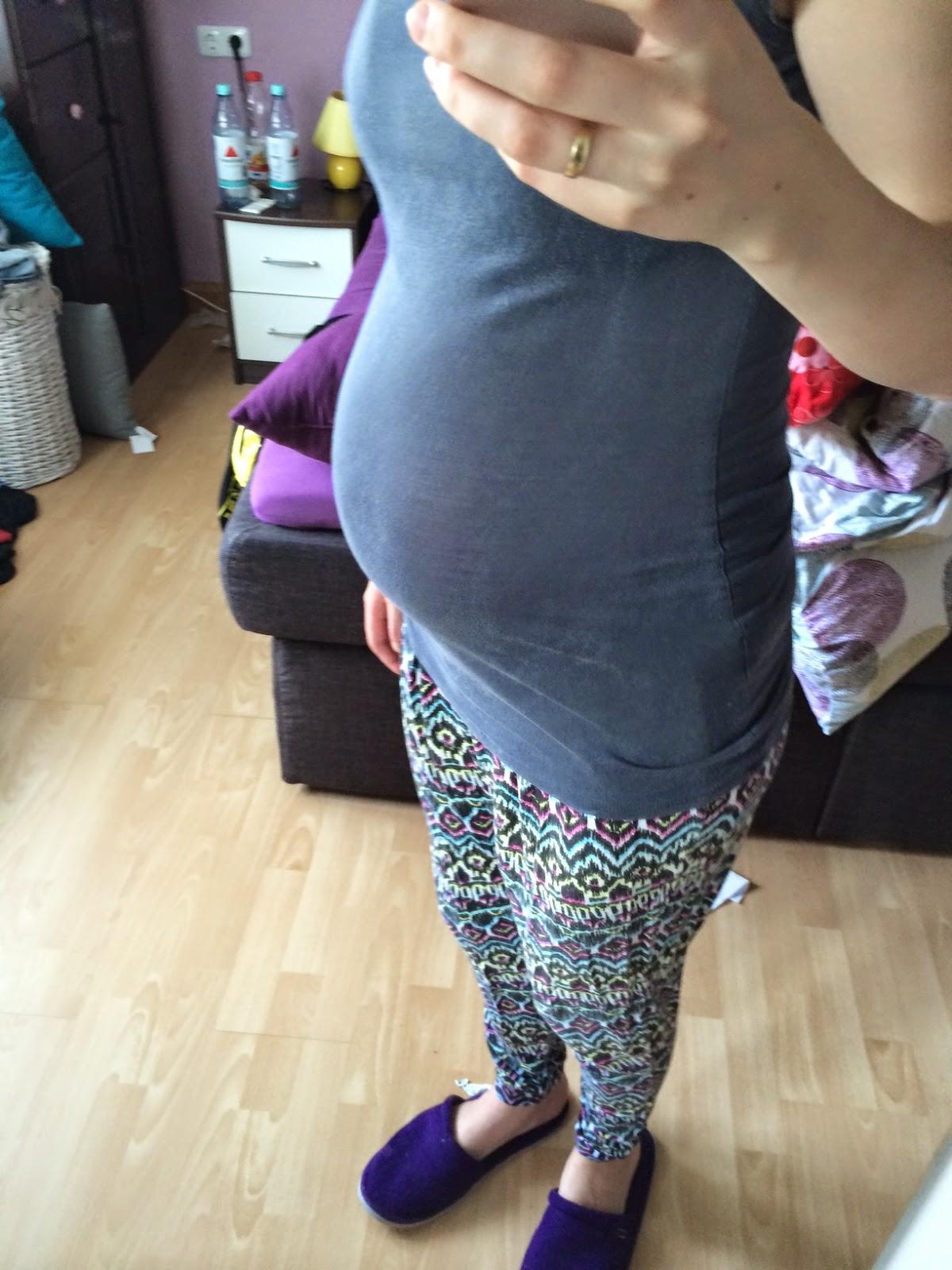 schwanger bauch malen
