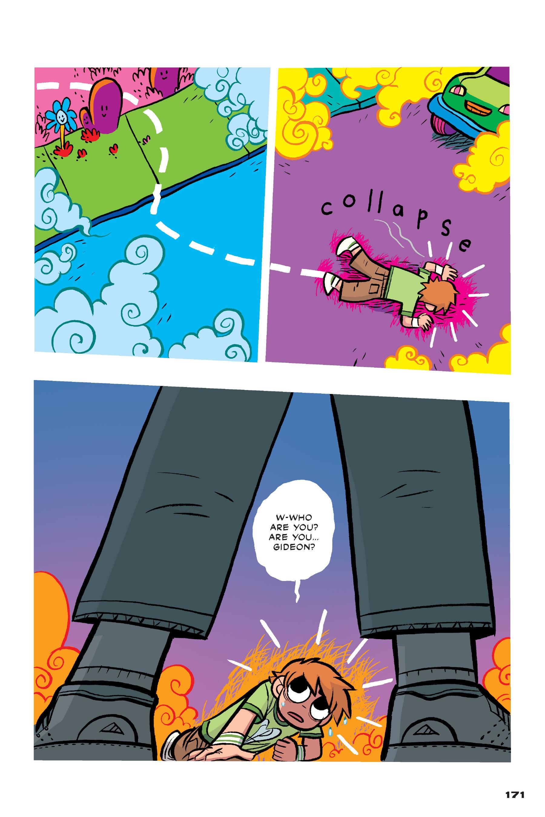 Read online Scott Pilgrim comic -  Issue #4 - 168