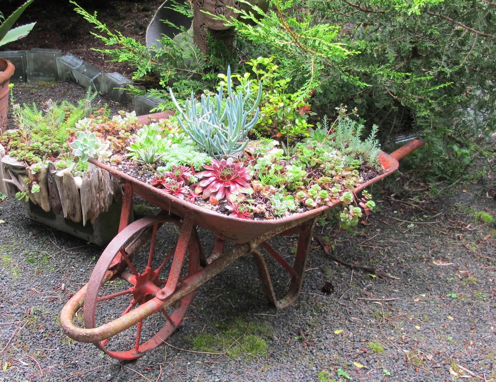Wheelbarrow Planter Ideas