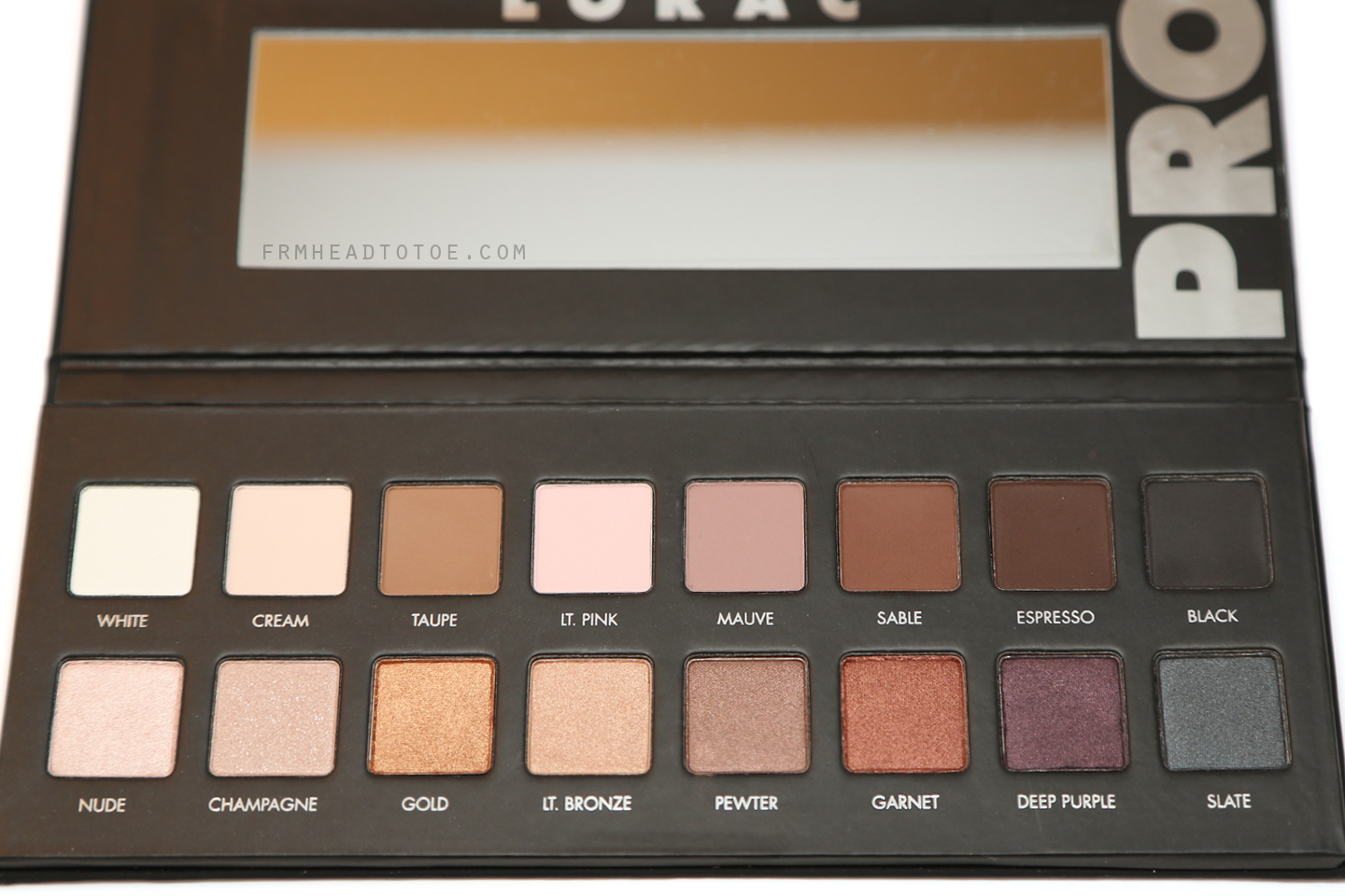 Lorac pro palette review swatches from head to toe lorac pro palette review swatches baditri Gallery
