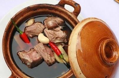 Cách làm món Sườn lợn hầm thuốc bắc ngon
