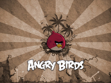#3 Angry Bird Wallpaper