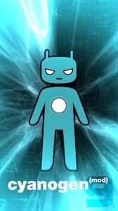 Splash del CyanogenMod instalado en mi móvil