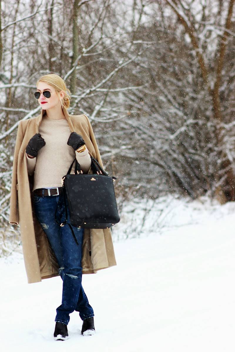 LOOK OF THE DAY: BEIGE WINTER SimplyTheBest Blog Ewa Sularz