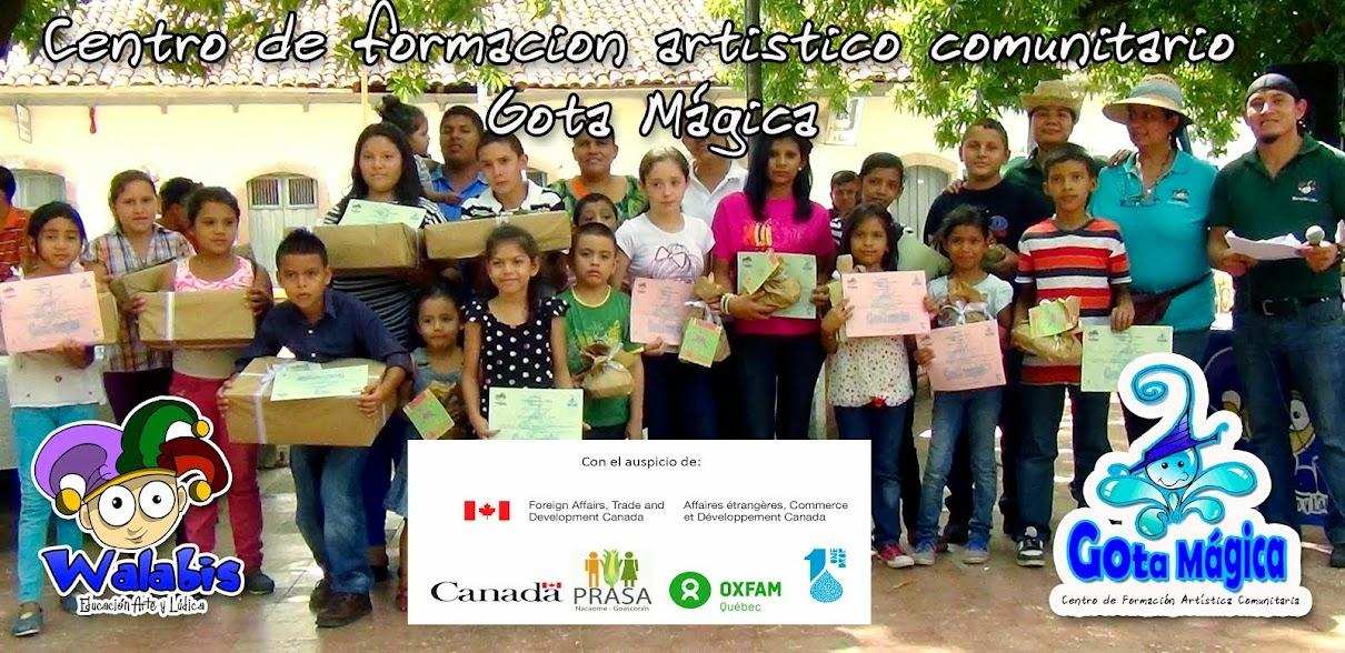 Centro de Formación Artístico Comunitario Gota Magica