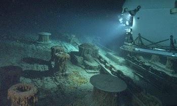 [Photos] Υποβρύχιες ξεναγήσεις στο ναυάγιο του Τιτανικού