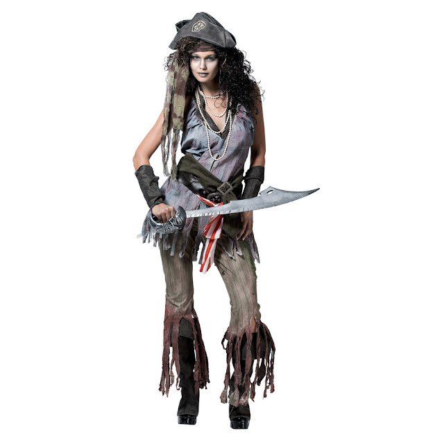 Female Ghost Pirate Costume