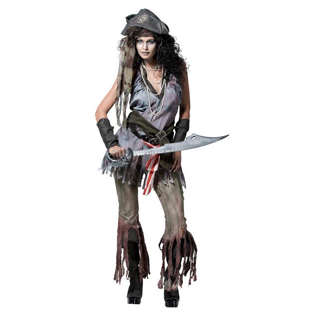 Female Ghost Pirate Costume
