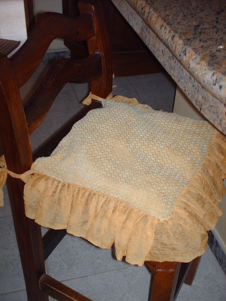 Novedades paola muestra de asientos o cojines para sillas de mi hogar for Asientos para comedor