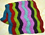 Lucy & Heather's Ripple Along Bright Blanket