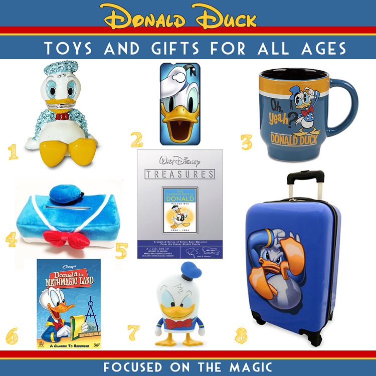 Holiday Gift Guide: For Donald Duck Fans | Focused on the Magic