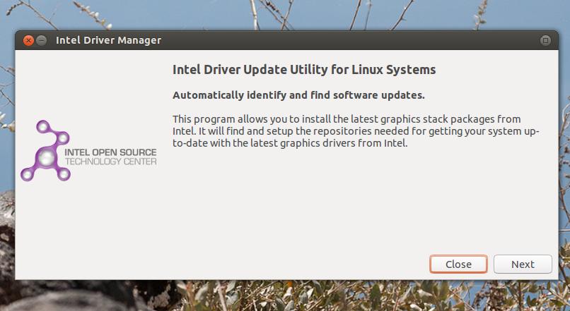 Linux driver installer
