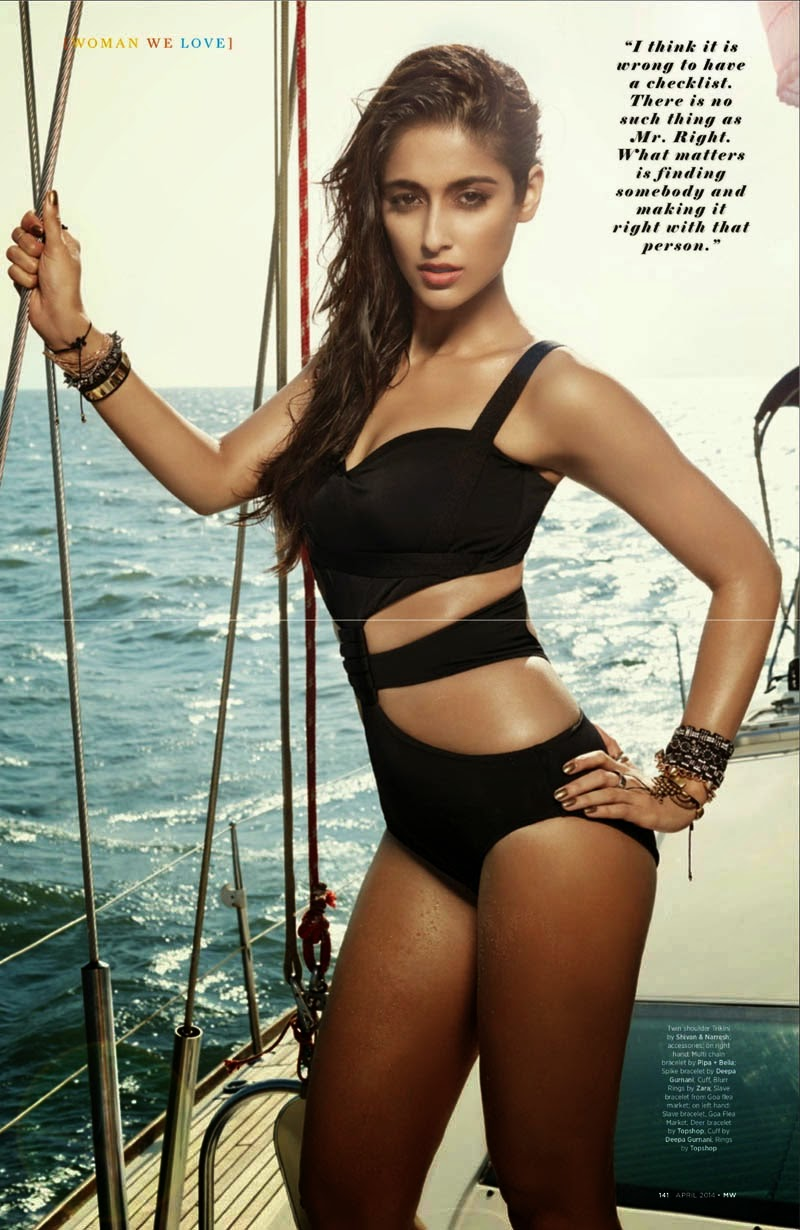 Ileana D'Cruz in Mans World Magazine 2
