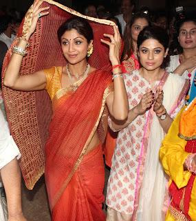 Shilpa Shetty Kundra's Ganpati Visarjan Gallery