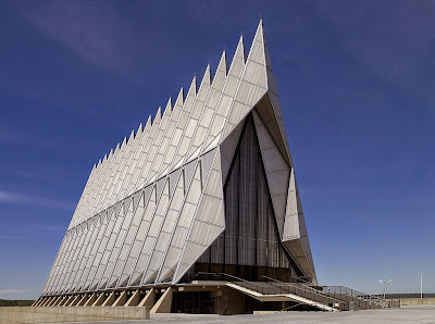 http://en.wikipedia.org/wiki/United_States_Air_Force_Academy_Cadet_Chapel