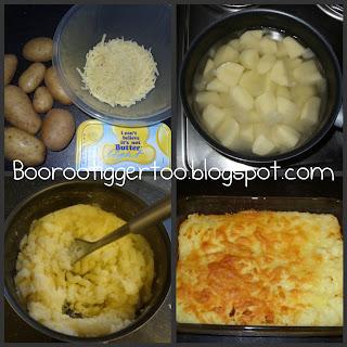 Recipe - Cheese & Potato Pie