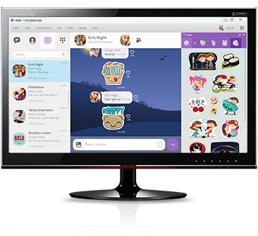 برنامج فايبر للويندوز Viber for Windows 5.0.1