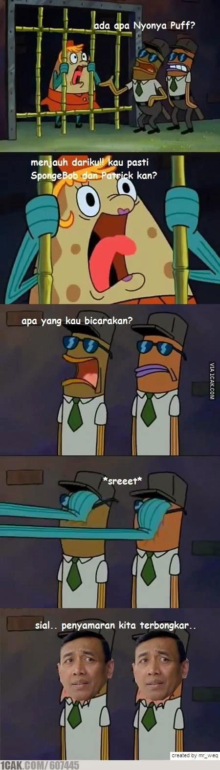 Meme Lucu Wiranto Menyamar 11