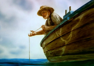 an overview of the character santiago in the novel the old man in the sea by ernest hemingway The old man and the sea was a big success for overview santiago is an old man and a fisherman who has read a process analysis essay by ernest hemingway.