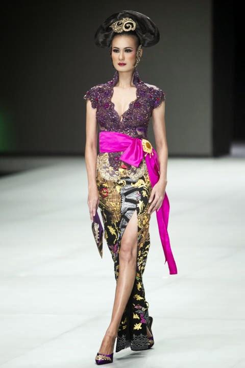 Foto Model Baju Kebaya Modern Lengan Pendek