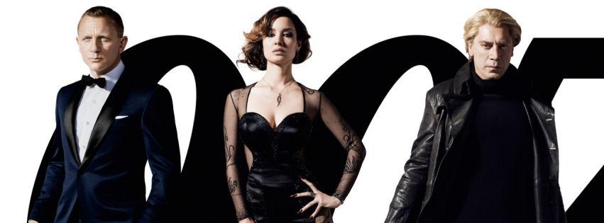 2012 Bond movie facebook cover