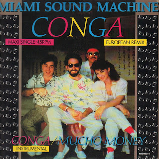... do Conga dos Miami Sound Machine de Gloria Estefan
