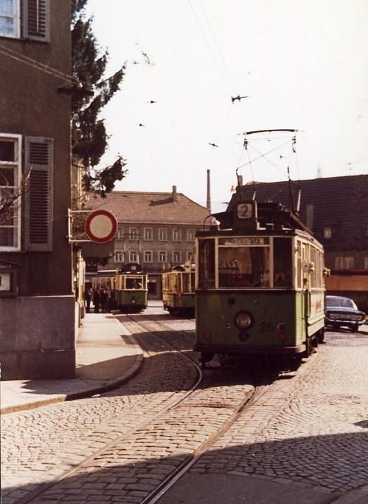 Pfullingen Stra Enbahn Am Laiblinsplatz